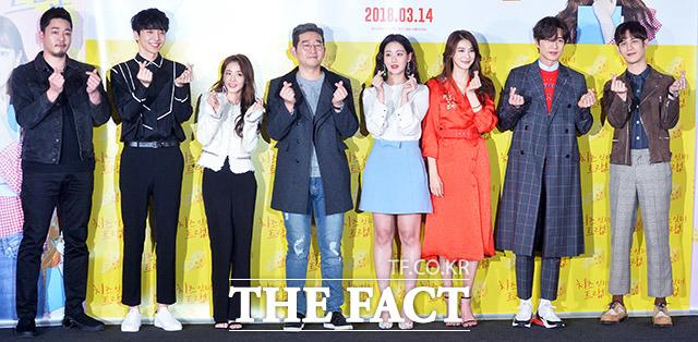映画「チーズ・イン・ザ・トラップ」マスコミ試写会が7日、ソウルで行われた。|撮影:イ・ドンリュル
