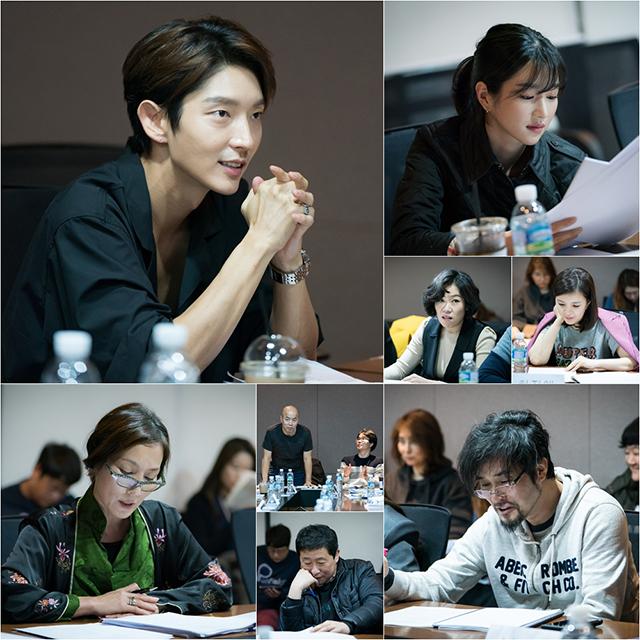 イ・ジュンギ主演ドラマ「無法弁護士」の初の台本読みが行われた。|tvNドラマ「無法弁護士」