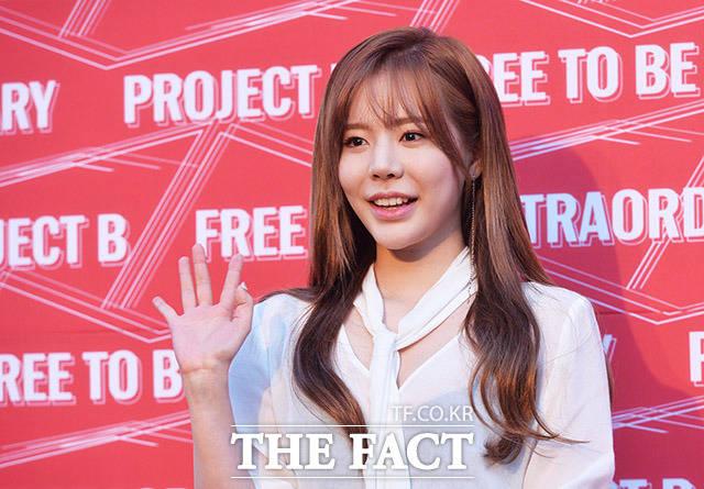 少女時代のサニーが7日、ソウルの芸術創作センターで行われた複合文化公演「プロジェクトB」の開催記念イベントに出席した。