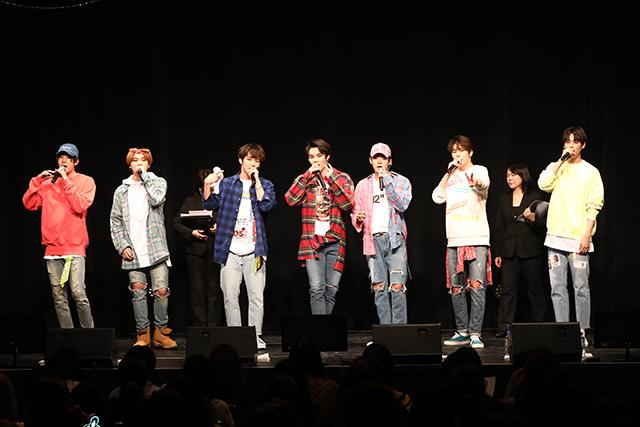 """VICTONが待望のファンミーティング「2018 VICTON 1st Fanmeeting in Japan """"ある素敵な日""""」を4月15(日)に東京・TFT ホール300で開催した。 写真提供:リードイン"""
