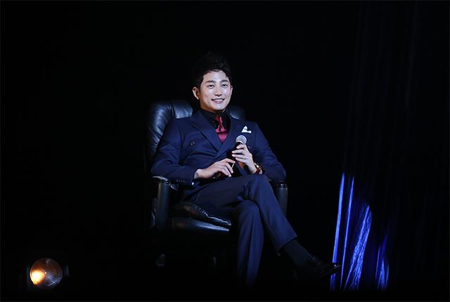 パク・シフが4月20日、東京・新宿文化センター大ホールにて行われたドラマ『黄金色の私の人生』放送記念イベントに登壇した。