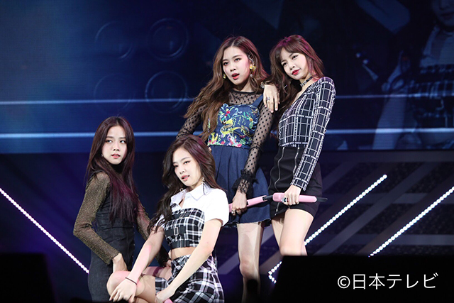「BLACKPINK (読み : ブラックピンク)」が、4月21日に行われた「スッキリ SUPER LIVE in 武道館ッス2018」に出演した。