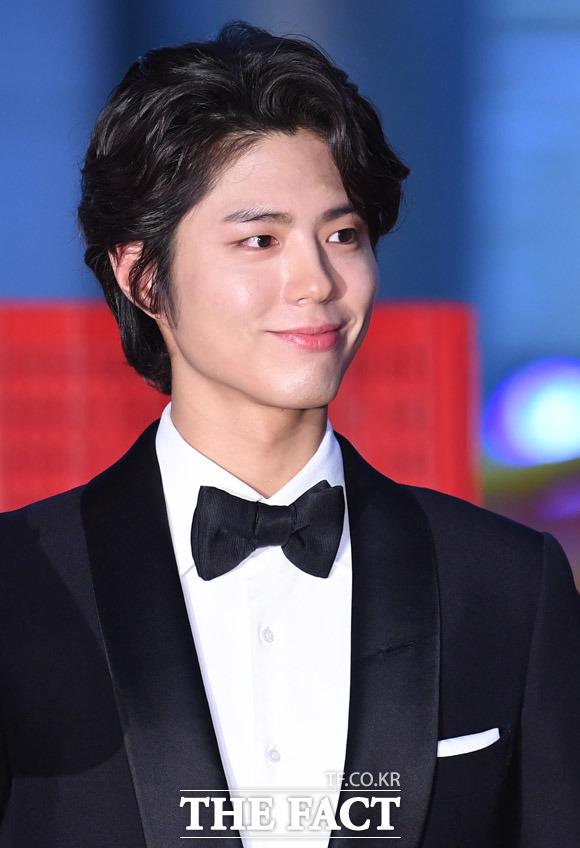 パク・ボゴムが3日、ソウルで行われた「第54回百想芸術大賞」に参席した。