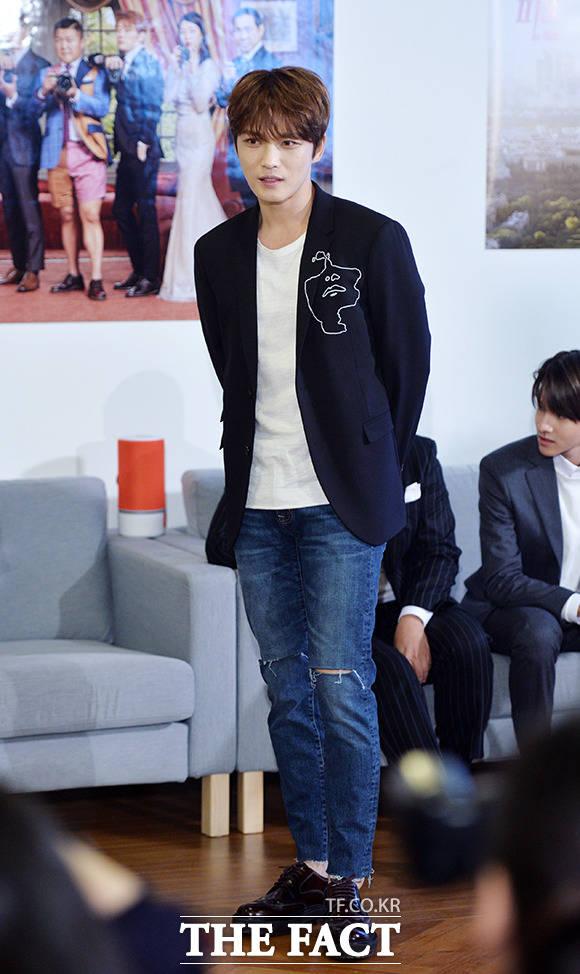 JYJのジェジュンがドラマ出演説を直接否定した。