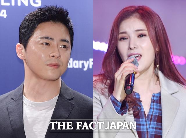 俳優チョ・ジョンソクと女性アーティストGUMMY