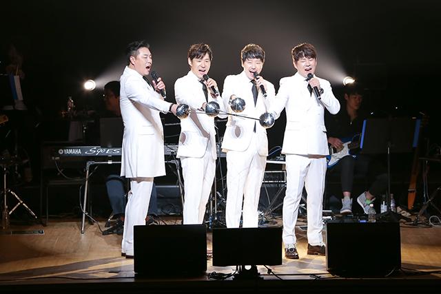 左からキム・ボムレ、ユ・ジュンサン、オム・ギジュン、ミン・ヨンギ