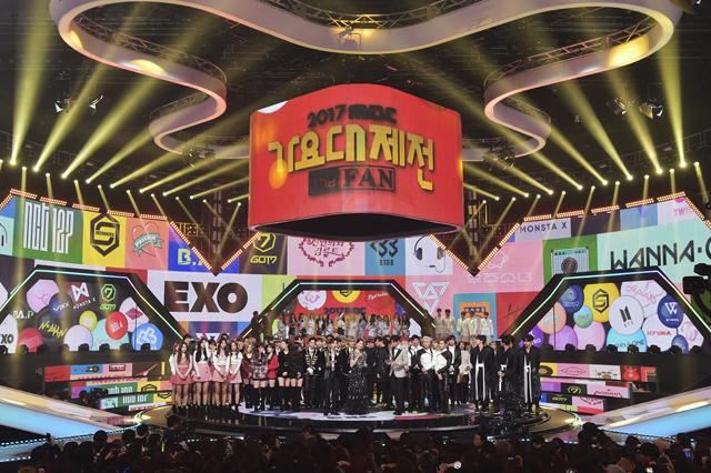 ©2017 MBC(画像は「2017 MBC歌謡大祭典」より