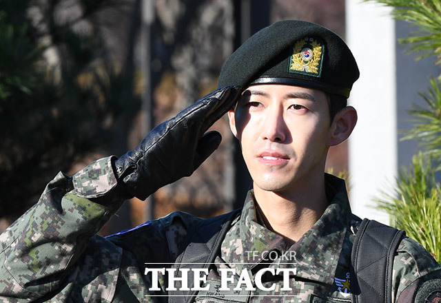 ZE:Aのグァンヒが7日、韓国陸軍から除隊した。|撮影:イム・セジュン