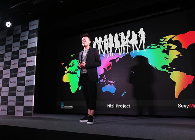 JYP Entertainmentの設立者でCCO(チーフ・コンテンツ・オフィサー)のパク・ジニョン氏