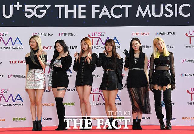 「U+5G THE FACT MUSIC AWARDS」(略:TMA)が24日、韓国・仁川にある南洞体育館にて開幕した。写真はガールズグループMOMOLAND。|撮影:THE FACT写真映像企画部