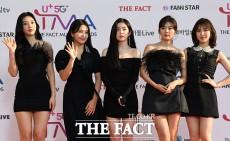 「U+5G THE FACT MUSIC AWARDS」(略:TMA)が24日、韓国・仁川にある南洞体育館にて開幕した。写真はガールズグループRed Velvet。|撮影:THE FACT写真映像企画部