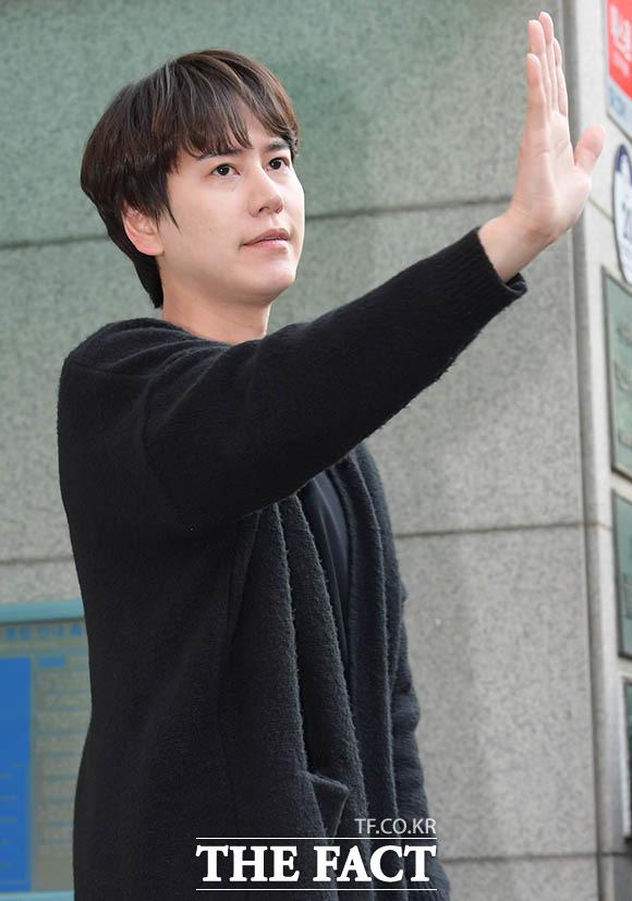 SUPER JUNIORのメンバー キュヒョンが7日午後、社会服務要員としての振替服務を終えた。|撮影:キム・セジョン