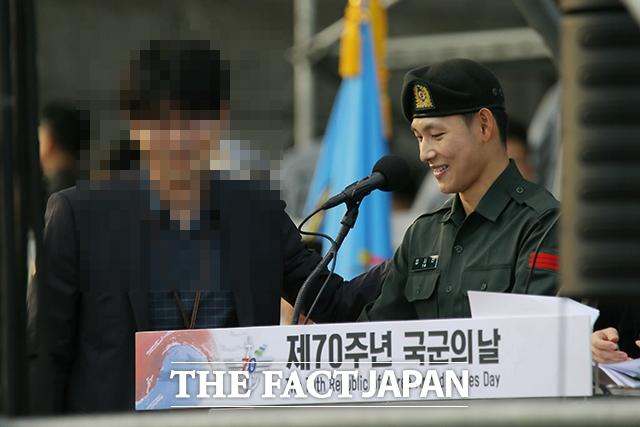 写真は昨年9月末、韓国の「国軍の日」にソウルの戦争記念館で行われた軍行事で撮影したもの。