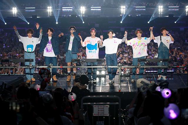 ソウルファンミーティングの模様 |写真提供:Big Hit Entertainment