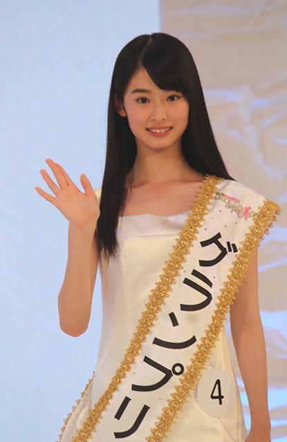 グランプリに輝いた京都府の中学2年生、井本彩花さん
