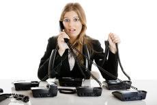 電話 第 一 声