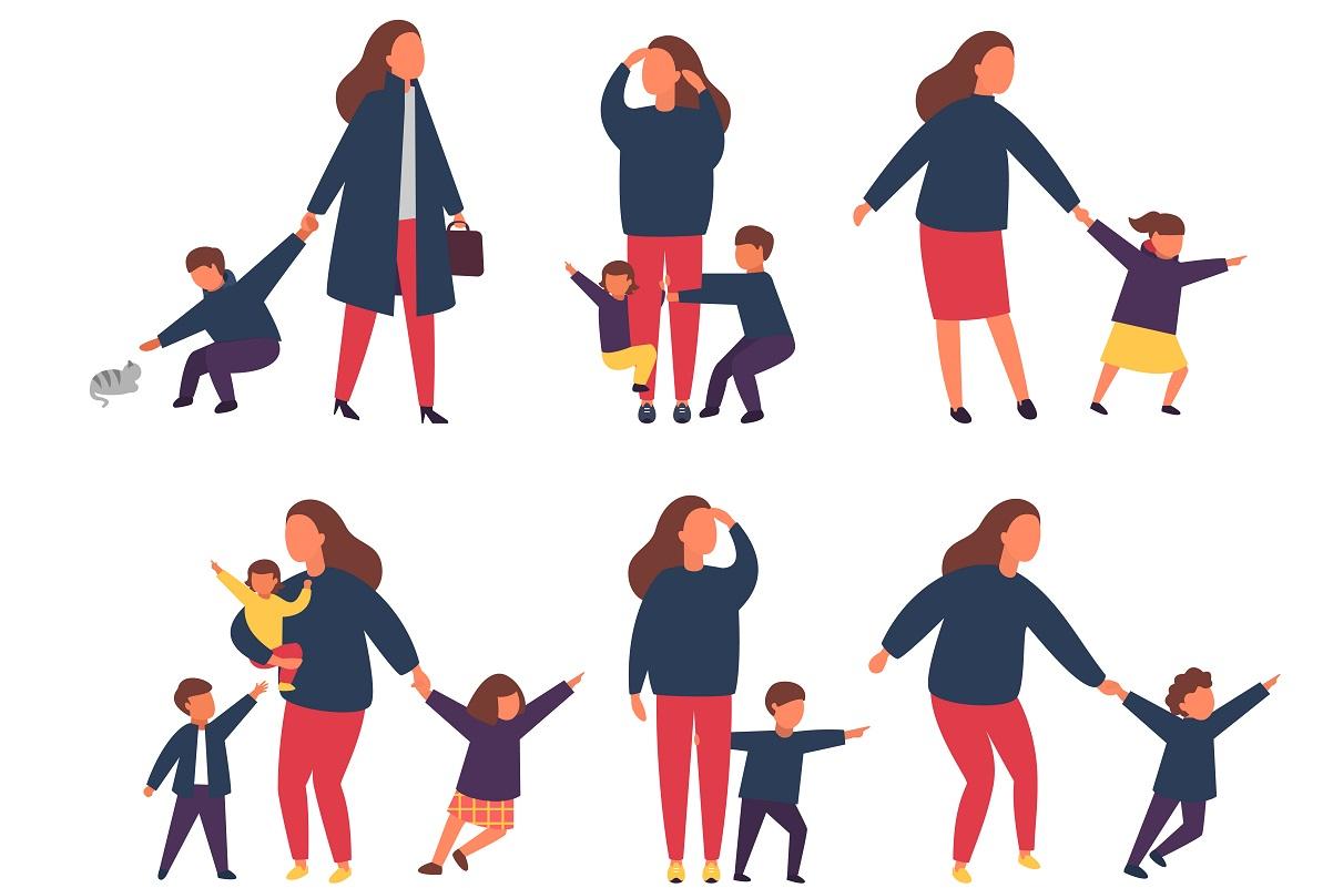 子育ての大変さは「休めばいいじゃん」では解決しない。何がストレスなのか?