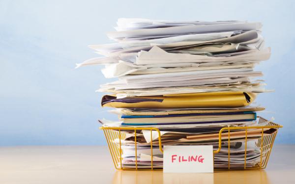 紙もの、片付け、ファイリング、断捨離