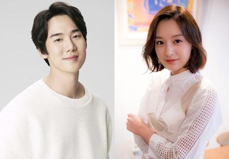 俳優ユ・ヨンソクと女優キム・ジウォンが交際を否定した。(提供:OSEN)