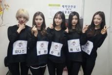 韓国ガールズグループ「DIA(ダイア)」側が「I.O.I」として活動中のメンバー、チェヨンのためにドリームコンサート出演を断念したと明かした。(提供:OSEN)