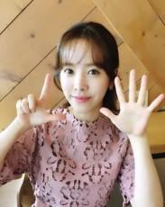 女優ハン・ジミンが、韓国映画「密偵」700万人突破を祝った(提供:news1)