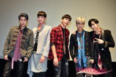 「Boys Republic」左からミンス、ソヌ、ウォンジュン、スウン、ソンジュン