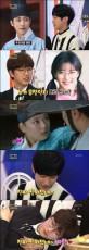 「B1A4」のジニョンとサンドゥルがドラマ「雲が描いた月明り」のシーンを再現した(提供:OSEN)