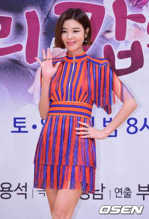 韓国女優キム・ギュリが、熱愛報道を否定した。(提供:OSEN)