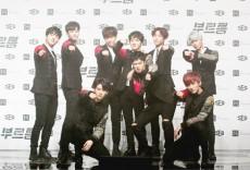 韓国9人組アイドルグループ「SF9」が、Gaonソーシャルチャートでトップ5に入り、次世代を代表するアイドルとして勢いを見せている。(提供:OSEN)