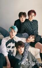 人気アイドルグループ「B1A4」が、女性誌の表紙を飾った。(提供:news1)