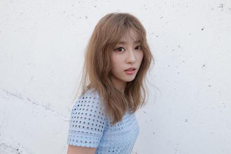 「K-POPスター6」に出演していたマ・ウンジンがガールズグループ「PLAYBACK」のメンバーとして電撃合流する。(提供:OSEN)