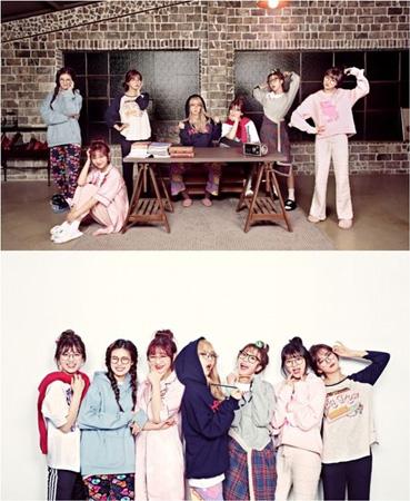 「アイドルドラマ工作団」、ガールズグループのメンバー7人7色の団体写真公開! (提供:OSEN)