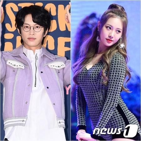 韓国アイドルグループ「SUPER JUNIOR」のキム・ヒチョル(33)と「Girl's Day」ユラ(24)がMCとして呼吸を合わせる。