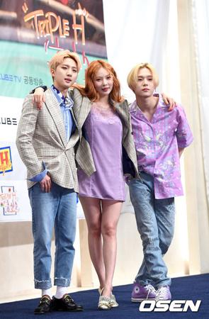 韓国アイドルグループ「PENTAGON」のメンバー、フイ(23)とイドン(22)がユニットを組んだヒョナ(24、元4Minute)に対する胸の内を明かした。