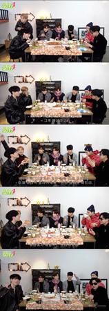 韓国ボーイズグループ「GOT7」が、音楽と共にした品格のあるディナータイムを過ごした。(提供:news1)