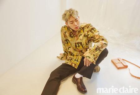 「Block B」ジコ 「人間ウ・ジホより、ジコでいるときのほうがロマンチック」(提供:OSEN)
