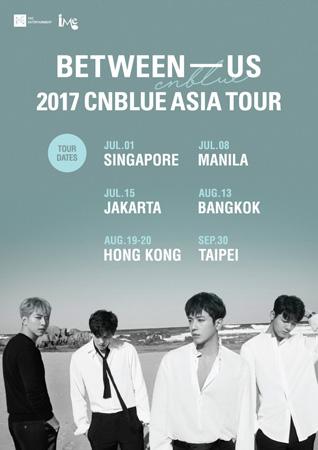 "「CNBLUE」、アジアツアー開催 ""6月ソウル公演でツアー幕開け""(提供:news1)"
