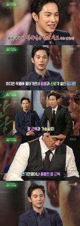 韓国ボーイズグループ「ZE:A」メンバーで俳優としても活躍しているシワンが、俳優ソル・ギョングのうらやましいところなどについて語った。(提供:OSEN)
