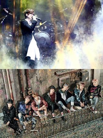 韓国アイドルグループ「防弾少年団」がソ・テジの曲リメイクプロジェクトに参加する。(提供:news1)