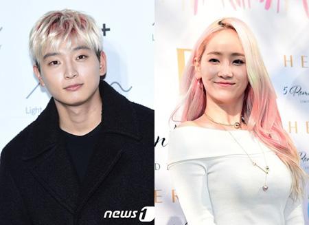 韓国ガールズグループ「Wonder Girls」出身イェウン(27)と「2AM」ジヌン(25)が破局したという報道が出た中、双方が「最近破局した」と認めた。(提供:news1)
