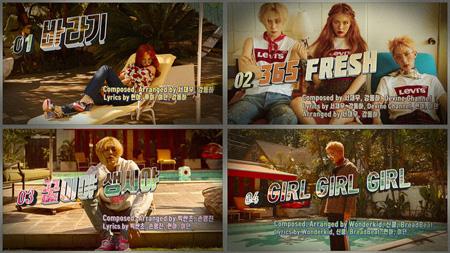 韓国ガールズグループ「4Minute」出身のヒョナと「PENTAGON」フイ、イドンのユニット「Triple H」がデビューを控えて1stミニアルバム「199X」のオーディオティザーを公開した。(提供:OSEN)