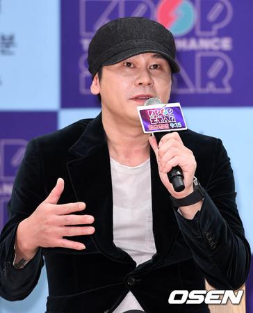 建築法違反の容疑で送検された韓国芸能企画会社YGエンターテインメントのヤン・ヒョンソク代表が、すぐに是正することを約束した。(提供:OSEN)