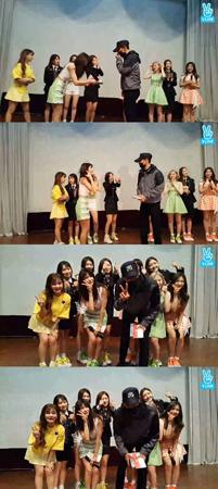 兵役中の「BIGBANG」T.O.P(29)の近況が後輩グループ「DIA」のVアプリを通して公開された。(提供:OSEN)