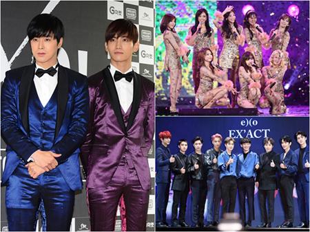 """10周年を迎える韓国ガールズグループ「少女時代」から除隊し帰ってくる「東方神起」まで、SMエンタテインメントの""""烈日""""は続く。"""