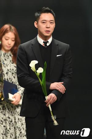 韓国ボーイズグループ「JYJ」メンバーのユチョンの所属事務所側が、結婚式場の変更に関する立場を明らかにした。(提供:news1)