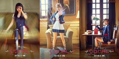 韓国ガールズグループ「TWICE」が、9人それぞれのキャラクターを生かしたティーザーイメージを連日公開している。(提供:OSEN)