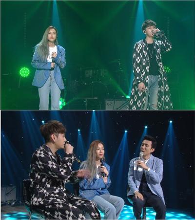 韓国ボーイズグループ「Highlight」メンバーのヨン・ジュンヒョンが、歌手Heizeと共に作業することになった理由を明かした。(提供:OSEN)