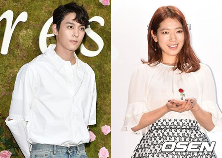 韓国女優パク・シネ(27)と俳優チェ・テジュン(25)が共に熱愛を否定した。(提供:OSEN)