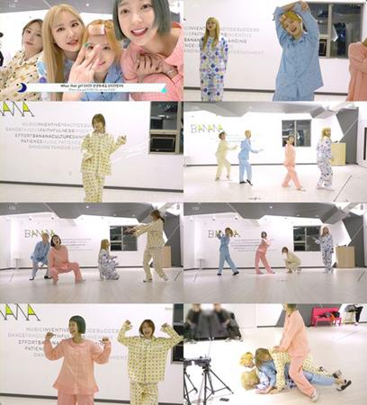 韓国ガールズグループ「EXID」が、新曲MV再生回数500万回突破を記念してファンにサプライズプレゼントをした。(提供:OSEN)
