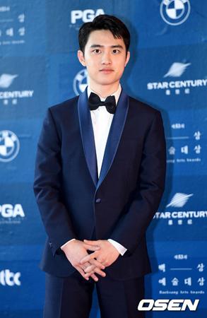 韓国ボーイズグループ「EXO」メンバーのD.O.が、映画「スイングキッズ」に出演を決めた。(提供:OSEN)